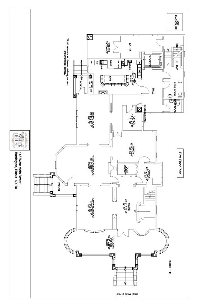 floor plans for barrington's white house | barrington's white house