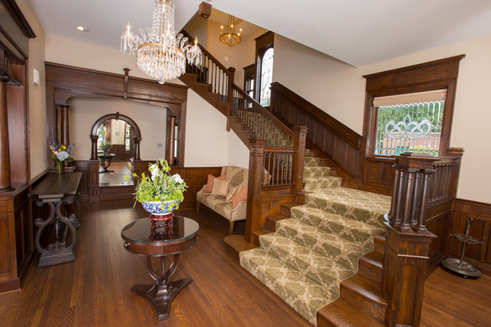 Grand Staircase at Barrington's White House