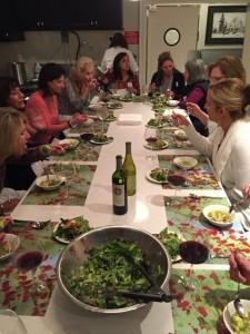Barrington White House cooking class