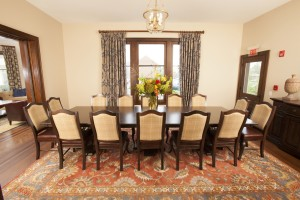 Barrington's White House dining room