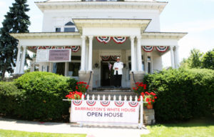 Barrington White House fourth of july
