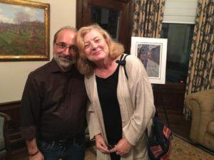 Barrington residents Thomas Balsamo and Mary Klest.