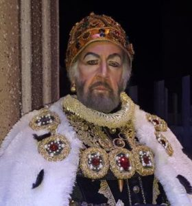William Powers as a king