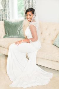 Bride in Bride's Room
