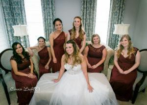 Barrington White House wedding bridesmaids