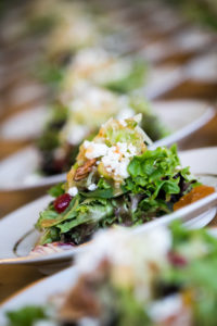 Wild Asparagus Caterer at Barrington's White House