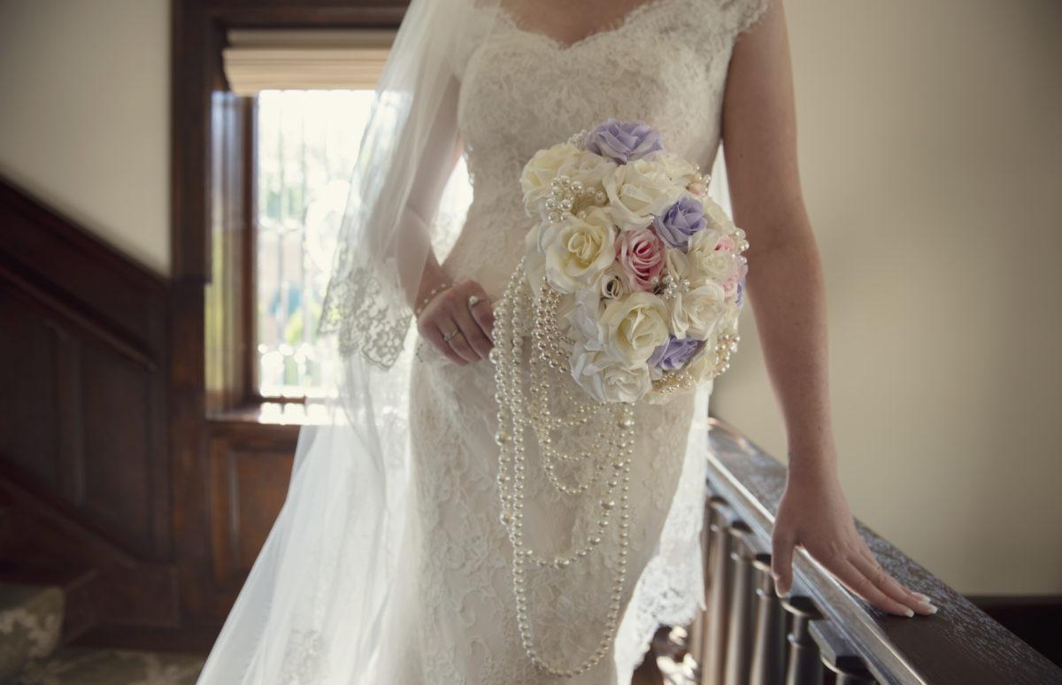 Bridal Bouquet at Wedding Venue