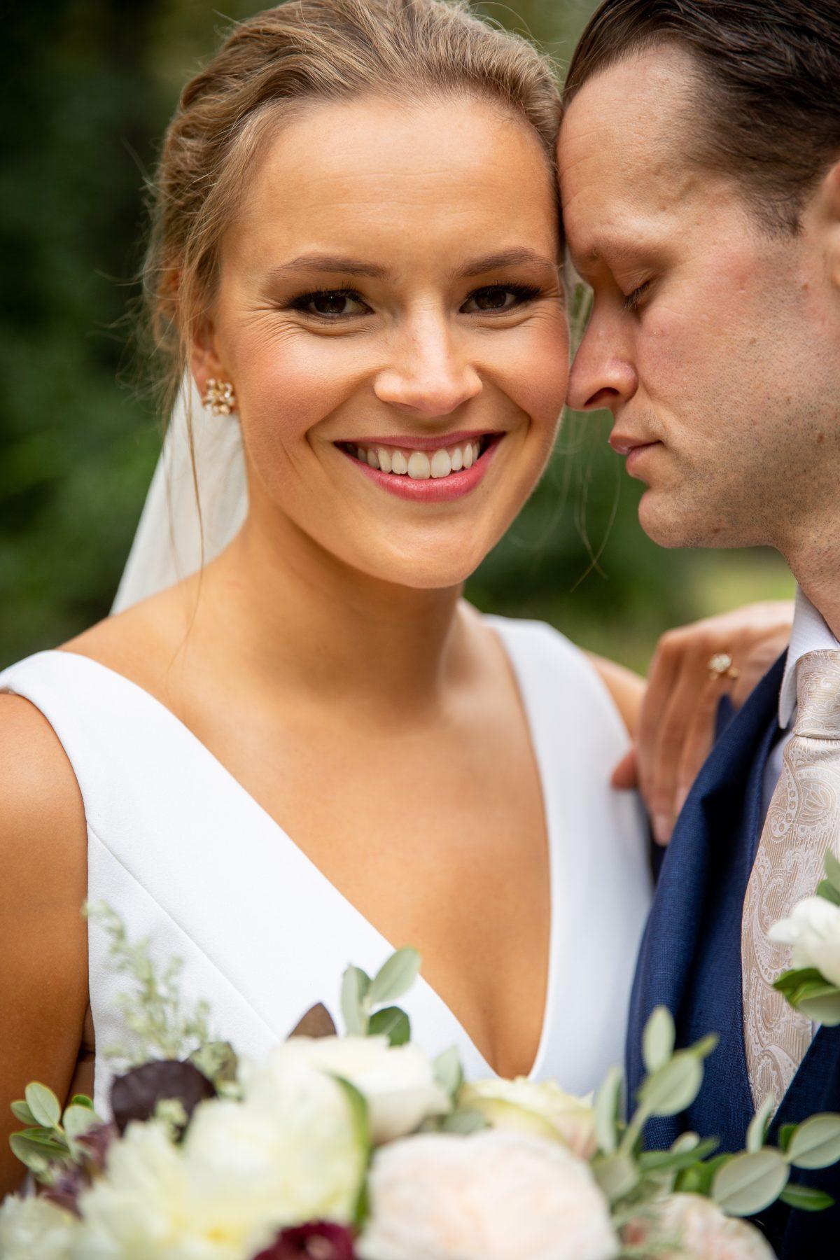 Bride and Groom in Barrington