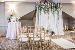 Wedding Alter Barrington's White House