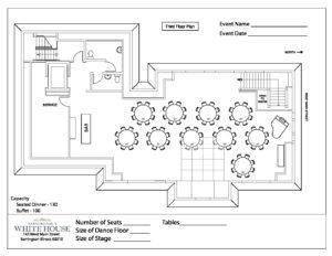 2 Third Floor Plan Corporate Employee Client Dinner Barrington S White House