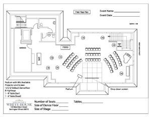 4 Third Floor Plan - Corporate Presentation Reception   Barrington