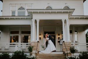 Barrington's White House Wedding Front Porch