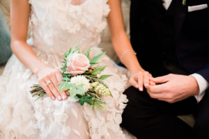 Barringtons White House wedding photo couple married