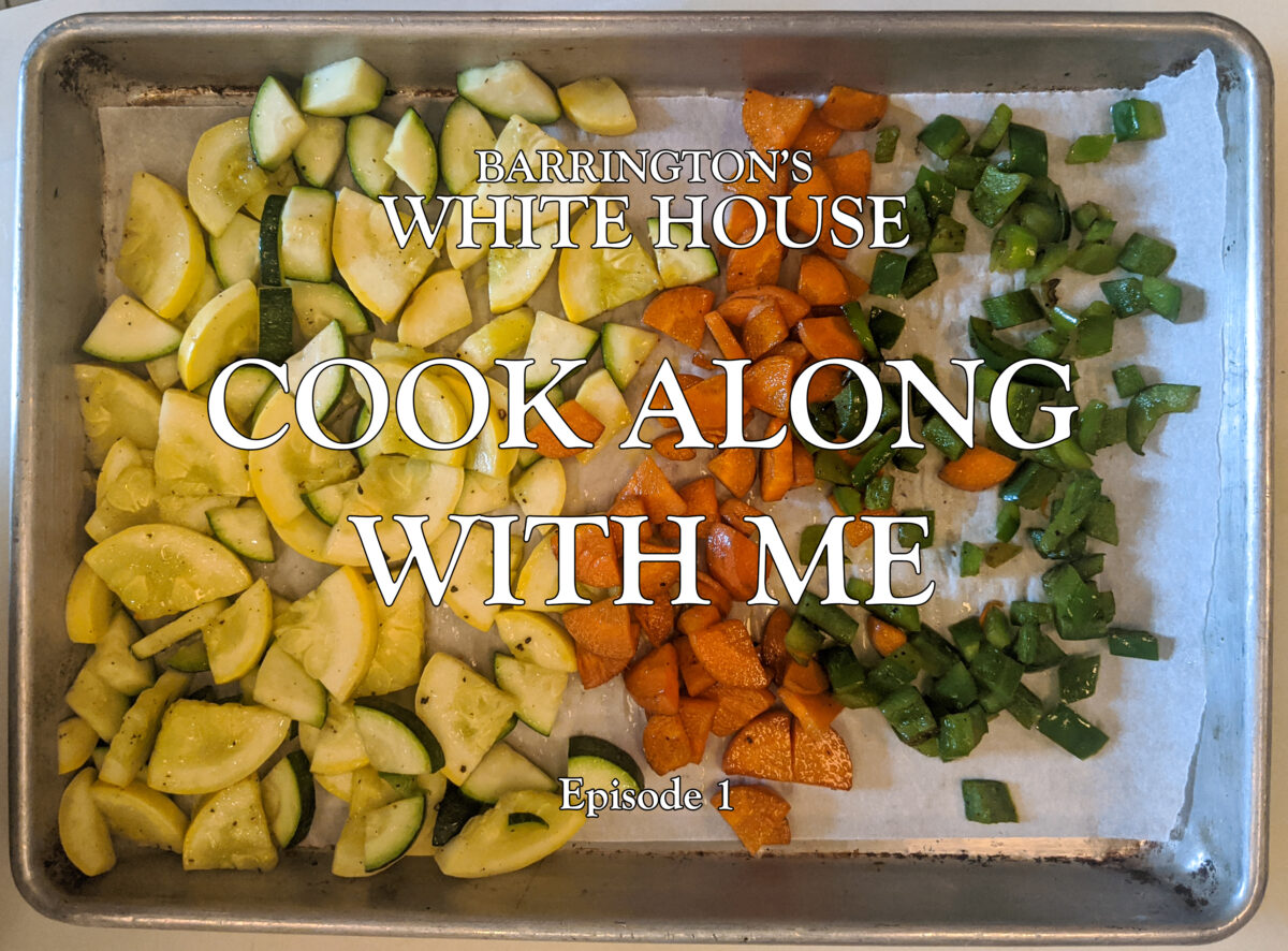 Cook along with me