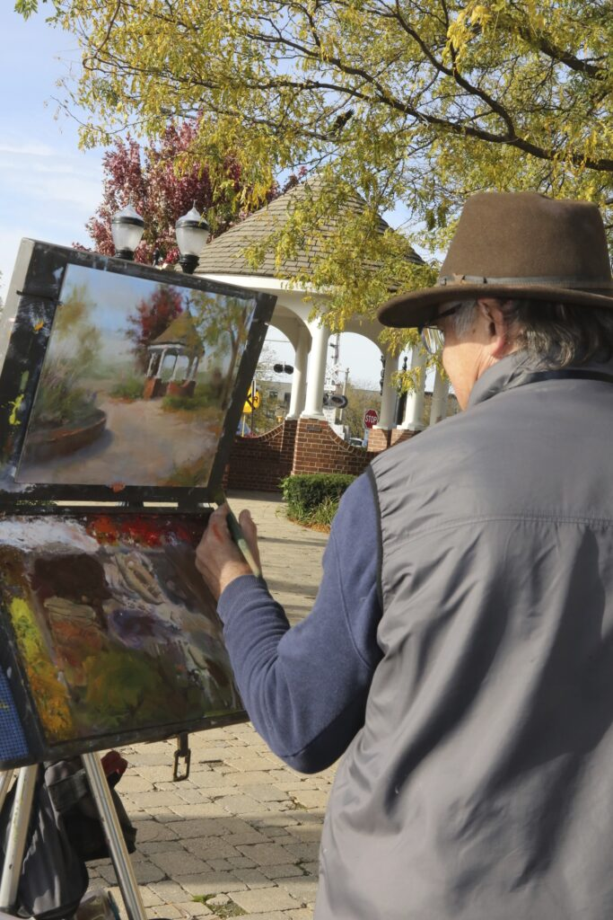Plein Air, Artist, Art, Painting, Outdoor Painting