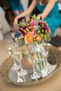 Barrington White House bridal suite wedding day