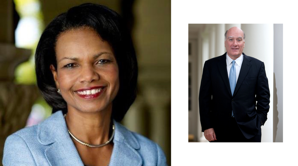 Condoleezza Rice & Bill Daley