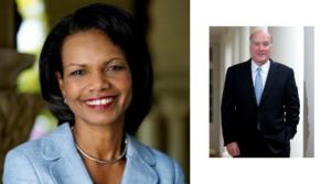 Condoleezza Rice & Bill Daley