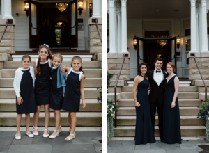 Real Weddings at Barrington's White House: Jenny & Jim's Family Wedding